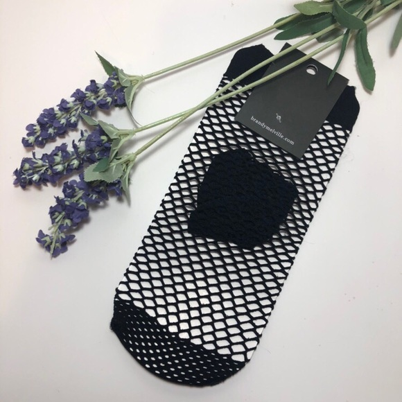 Brandy Melville Accessories - Brandy Melville black fishnet socks